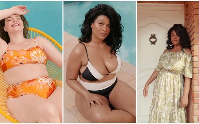 Peças da coleção Primavera/Verão da marca Ashua Curve & Plus Size