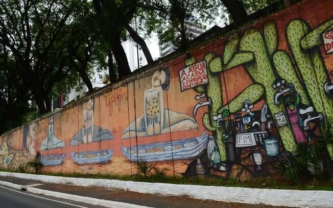 Ação civil pública foi movida na Justiça depois que a gestão de João Doria apagou grafites na Avenida 23 de Maio