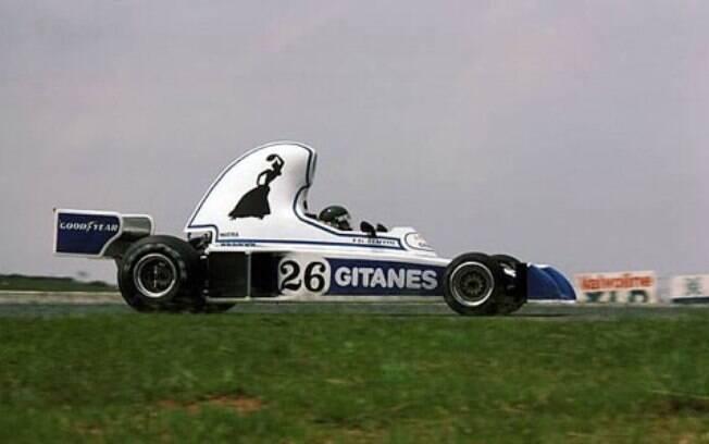 O primeiro carro da Ligier, o JS5, de 1976 contava com uma traseira oval e elevada. O adereço é um dos mais bizarros da história da categoria