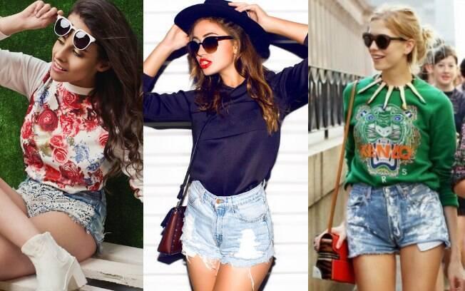 """Shorts """"detonadinhos"""", jeans """"destroyed"""" também conversam muito bem com o moletom e deixam o visual bem moderno."""