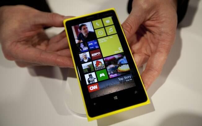 Windows Phone 8 chegará às lojas em aparelhos da Nokia (foto), Samsung e HTC em novembro