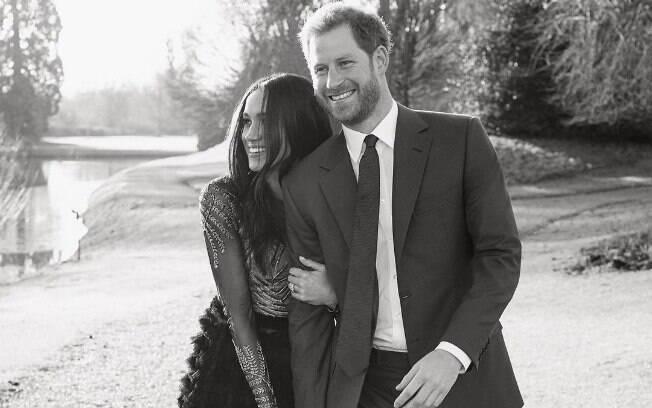 Meghan Markle e Príncipe Harry estão esperando o primeiro filho, mais um integrante da família real britânica