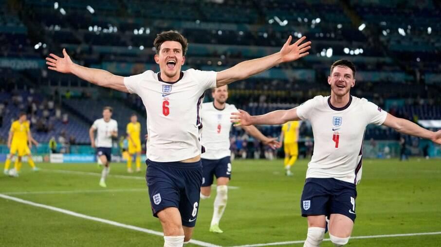 Inglaterra avança às semifinais da Eurocopa