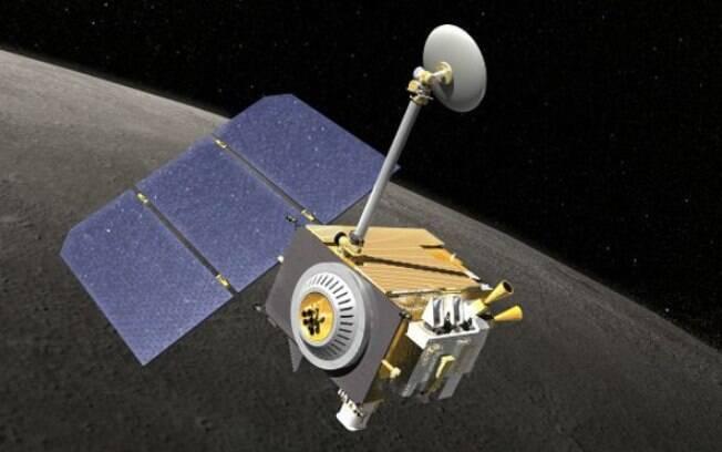 A nave Lunar Reconnaissance Orbiter, da agência americana, foi lançada no espaço em 2009