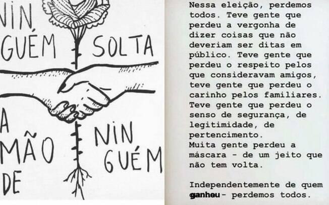 Preta Gil lamenta resultados das eleições nas redes sociais e muitos seguidores apoiaram e criticaram a cantora brasileira
