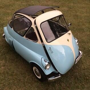 Esse Romi-Isetta é de chassis número 5, possivelmente o único sobrevivente dos primeiros modelos produzidos.