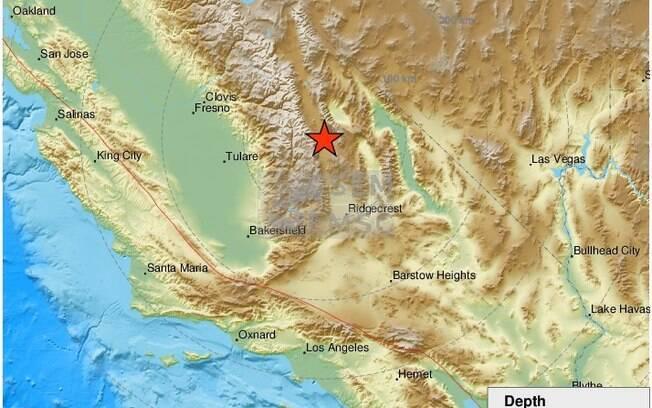 Terremoto Califórnia