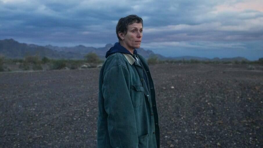 Oscar 2021: cena de Nomadland, filme mais premiado da noite