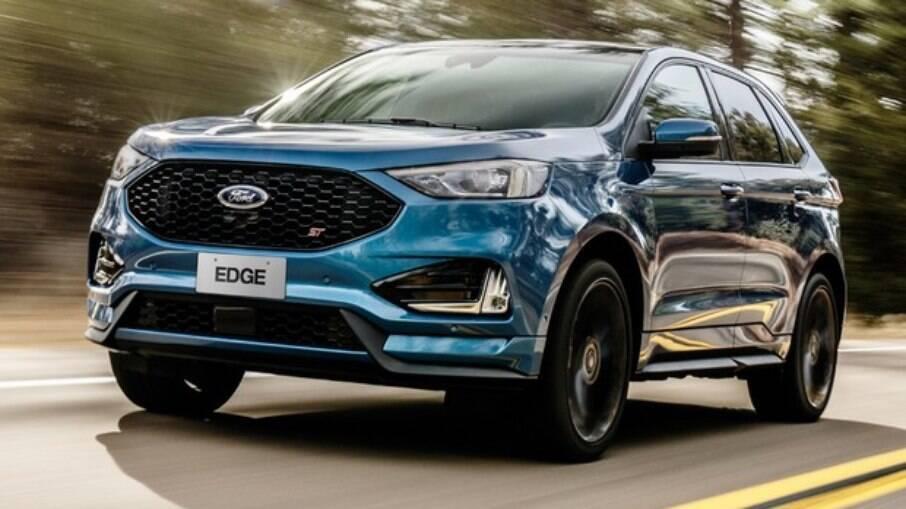 Ford Edge ST é alternativa esportiva entre os SUVs premium; desempenho não agrada em 2021