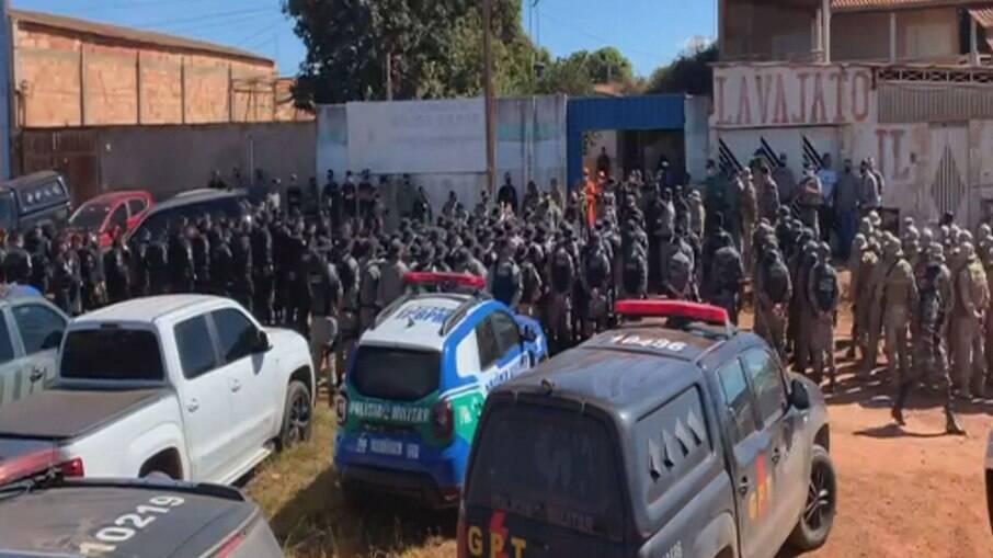 Caçada policial a Lázaro envolvem cerca de 300 policiais do DF e de Goiás