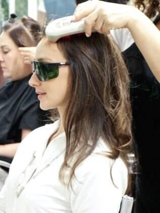 A modelo Sabrina Parlatore também é adepta do tratamento baseado nas fases da lua