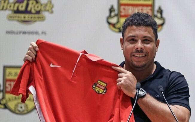 Ronaldo é sócio do Fort Lauderdale Strikers, que almeja fazer parte da MLS