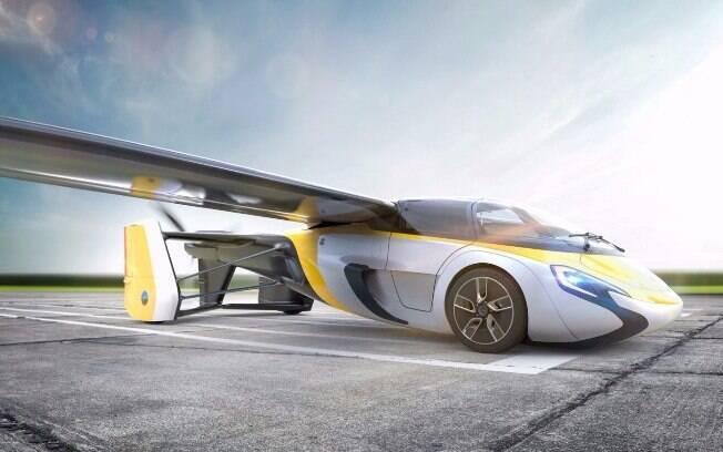 AeroMobil é o carro que voa europeu mais próximo de começar a ser vendido ao público, a partir de 2020
