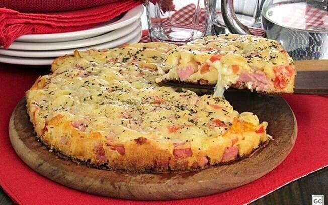 Receitas de torta-pizza para fazer em casa