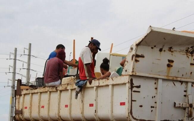 Imagens da reintegração foram publicadas nas redes
