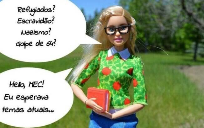 Barbie fascista: um dos memes que mais pegaram em 2018