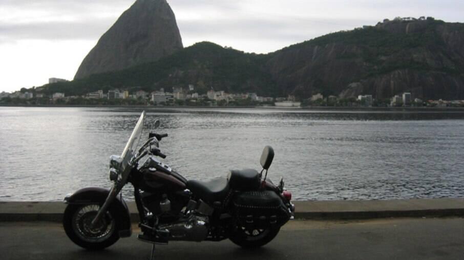 A chegada ao Rio de Janeiro, com o clássico cartão postal ao fundo