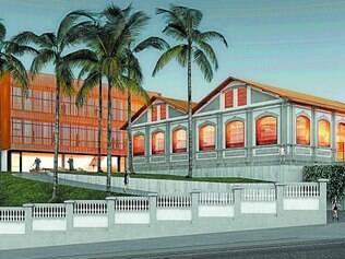 Futuro. Projeção elaborada pela Mach Arquitetos mostra como será a parte externa do museu quando as obras forem concluídas