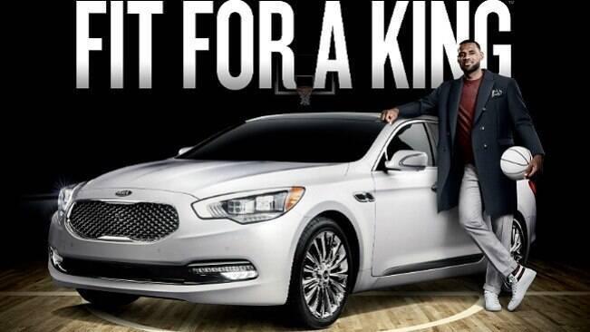 LeBron é a esperança da Kia de recuperar K900 nos EUA