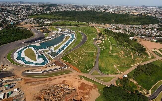 Parque Radical do Rio: circuitos da canoagem slalom e do mountain bike já estão prontos