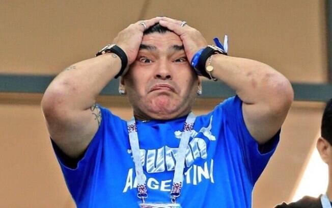 Maradona chegou a ser preso em 1991