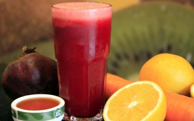 Foto da receita Vitamina Superforte pronta.