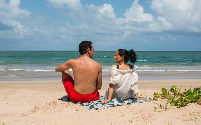 Irandhir Santos e Sonia Braga em