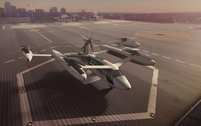 Uber anuncia que fechou contrato com a NASA para desenvolver carro voador de uso comercial e urbano