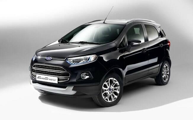 Ford EcoSport que será vendido nos EUA