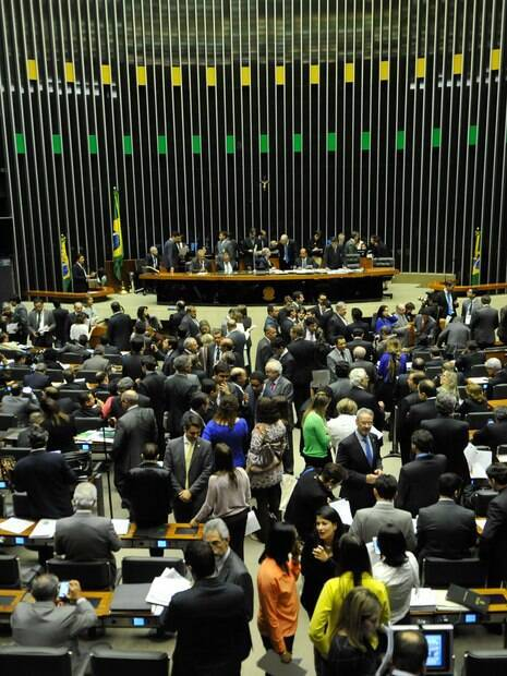 Plenário na Câmara dos Deputados  Centrão