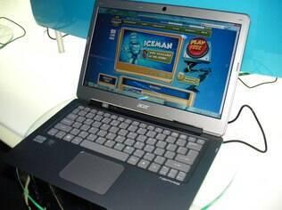 Aspire S, ultrabook da Acer lançado no início do ano, durante a Consumer Electronics Show (CES)