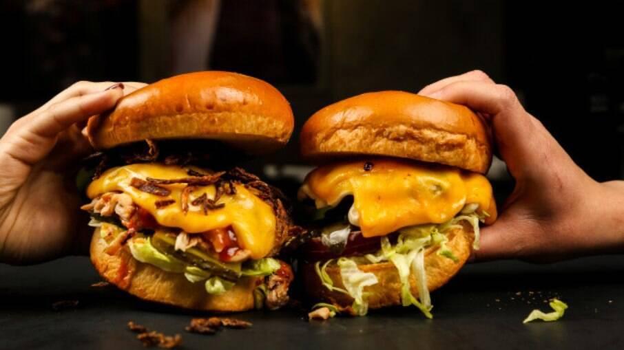 Muito popular nos Estados Unidos, o hambúrguer hoje é adorado no mundo todo