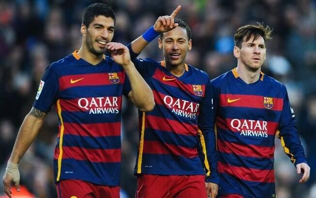 Com a volta de Neymar ao Barça, poderíamos ver novamente o trio MSN em campo