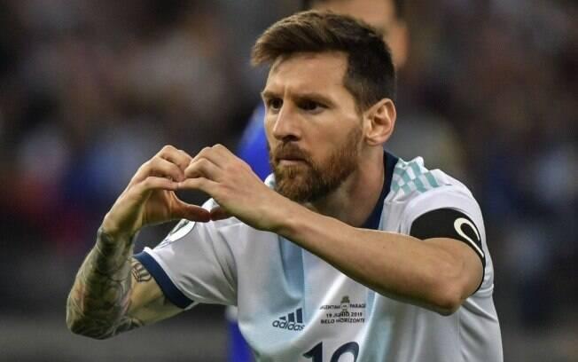 Lionel Messi é a esperança da Argentina