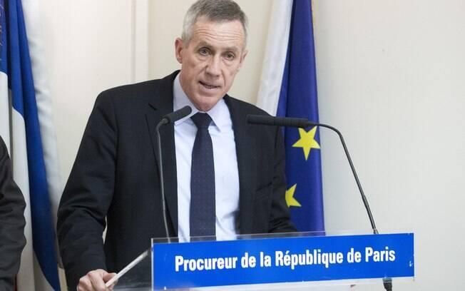 François Molins, promotor francês, durante coletiva de imprensa coletiva nesta quarta-feira
