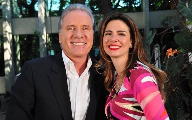 Roberto Justus e Luciana Gimenez