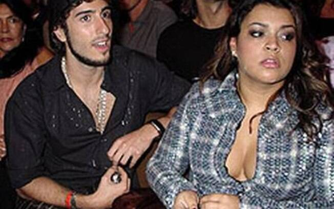 Marcos Mion e Preta Gil namoraram durante o ano de 2003