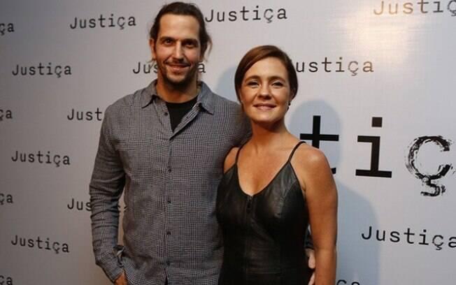 """Adriana Esteves e Vladimir Brichta iniciaram o namoro em 2006, quando se reencontraram nos bastidores da novela """"Kubanakan"""" (Globo)"""