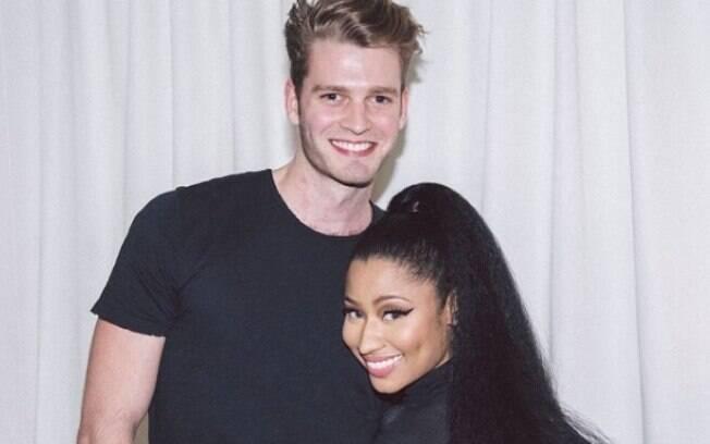 Nicki Minaj já tinha publicado um suposto casamento em suas redes sociais com o primo do Príncipe Harry