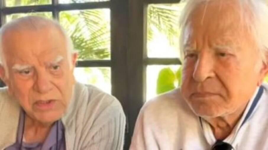 Célio e Cid Moreira