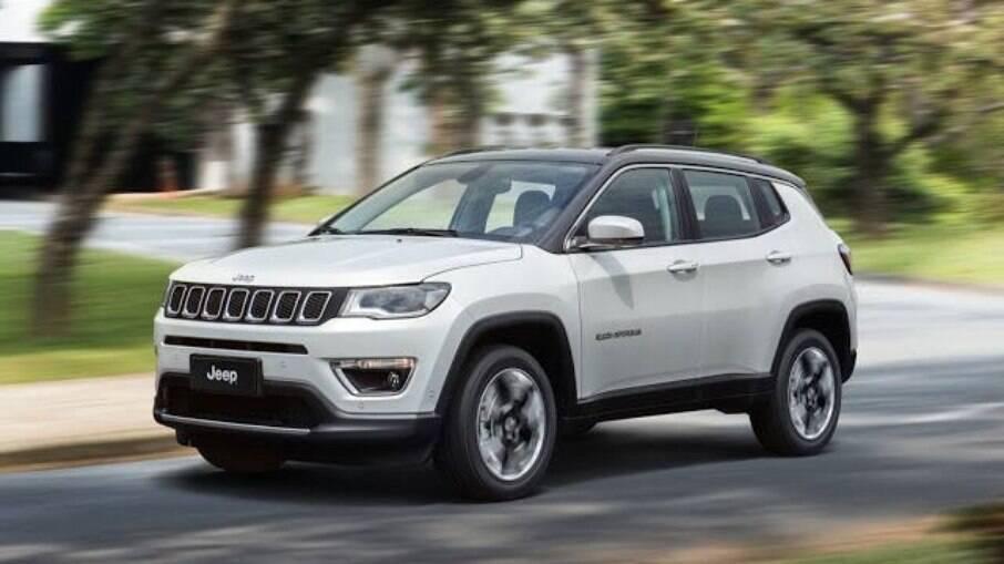 Jeep Compass é um dos destaques entre os SUVs seminovos mais vendidos do Brasil