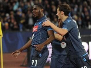 Duván Zapata brilhou e deu a vitória ao Napoli