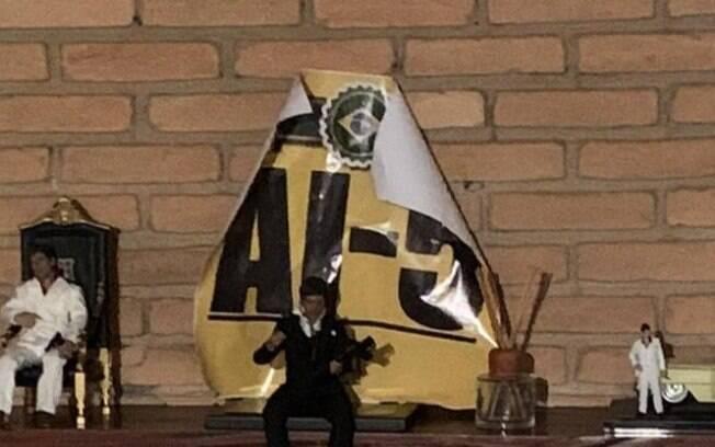 Lareira Cartaz AI-5