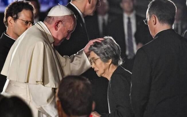 Papa Francisco visitou o Japão e condenou o uso de armas nucleares