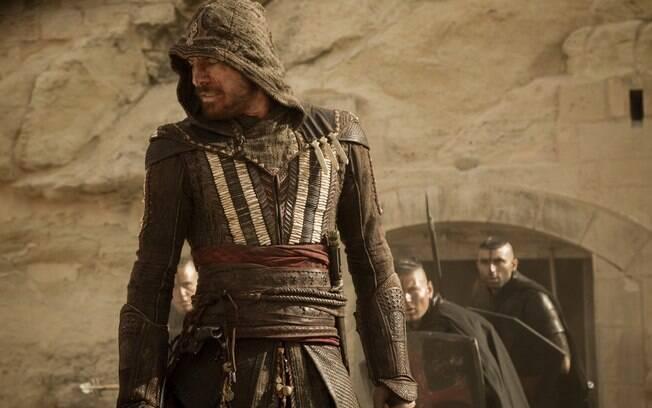 Michael Fassbender em cena de Assassin´s Creed, que estreia nesta quinta-feira (12)