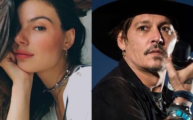 Isis Valverde já contou que tem uma queda por Johnny Depp