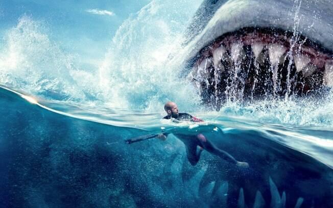 Filmes com tubarão são sucesso nos cinemas e mais um longa com a temática estreia este ano