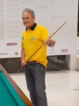 Otávio Mesquita realiza torneio de sinuca beneficente com a presença de famosos, em São Paulo