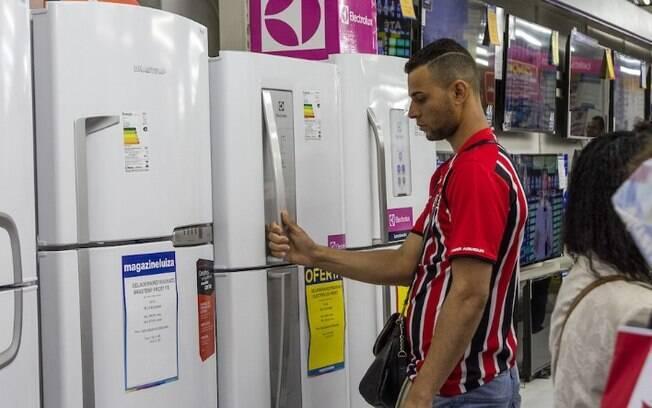 Campanha dá desconto de até 50% na compra de geladeiras novas
