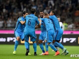 Inter de Milão venceu mais uma pela Liga dos Campeões da Europa